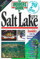 The Insiders  Guide to Salt Lake City PDF