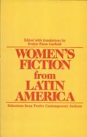 Women s Fiction from Latin America PDF