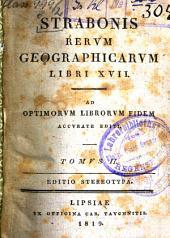 Res geographicae: ad optimorum librorum fidem accurate editi, Τόμος 2