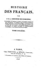 Historie des Francais