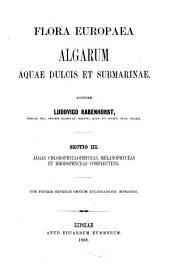 Algae chlorophyllophyceae, melanophyceae et rhodophyceae