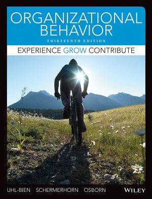Organizational Behavior 13E with WileyPlus Card