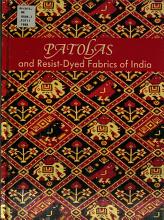 Patolas and Resist dyed Fabrics of India PDF