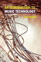 An Introduction to Music Technology PDF