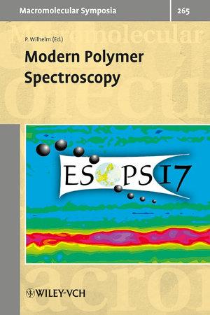 Modern Polymer Spectroscopy PDF