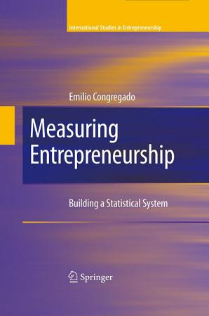 Measuring Entrepreneurship PDF