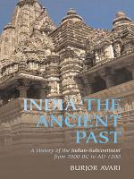 India  The Ancient Past PDF