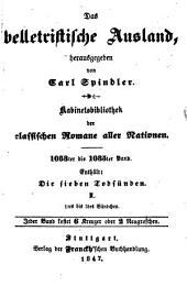 Die sieben Todsünden: ¬Die Hoffart oder die Herzogin, Bände 1-3