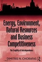 Energy  Environment  Natural Resources and Business Competitiveness PDF
