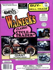 WALNECK'S CLASSIC CYCLE TRADER, FEBRUARY 1996