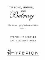 To Love, Honor, and Betray