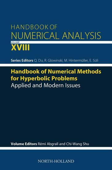 Handbook of Numerical Methods for Hyperbolic Problems PDF