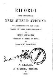 Ricordi dell'imperatore Marc'Aurelio Antonino