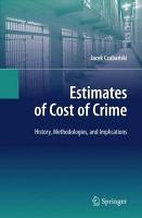 Estimates of Cost of Crime PDF