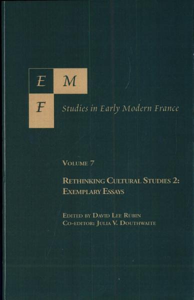 EMF Studies in Early Modern France