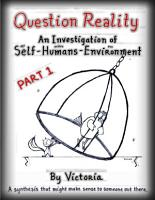 Question Reality  an Investigation of Self Humans Environment   PART 1 Global Distribution PDF