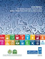 I for Impact  Blending Islamic Finance and Impact Investing for the Global Goals PDF