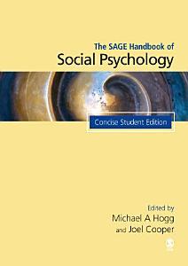 The SAGE Handbook of Social Psychology PDF