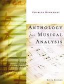 Anthology For Musical Analysis