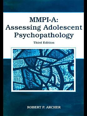 MMPI A  Assessing Adolescent Psychopathology PDF