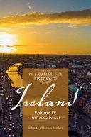 The Cambridge History of Ireland  Volume 4  1880 to the Present