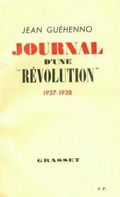 Journal d'une révolution