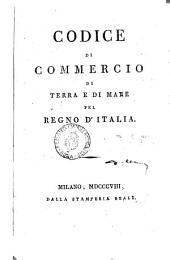 Codice de commercio di terra e di mare del regno d'Italia