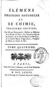 Élémens d'histoire naturelle et de chimie: Volume4