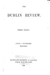 The Dublin Review: Volume 85
