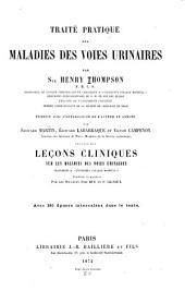 Traité pratique des maladies des voies urinaires