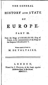 The General History and State of Europe: Parts 3-4