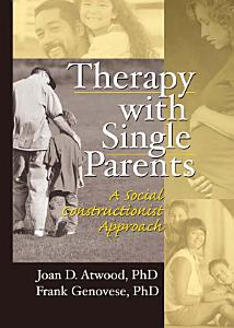 Therapy with Single Parents PDF