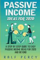 Passive Income Ideas For 2020