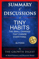 Summary and Discussions of Tiny Habits