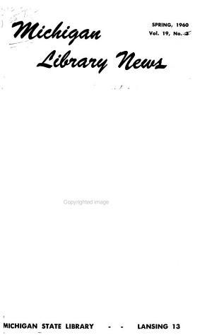 Michigan Library News