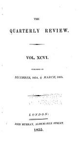 The Quarterly Review: Volume 96