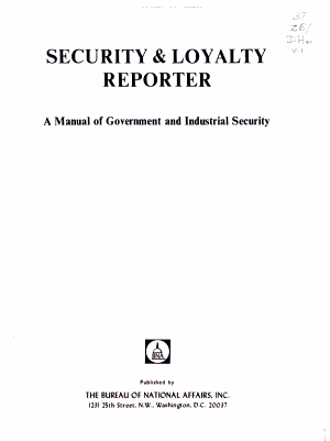 Security and Loyalty Reporter