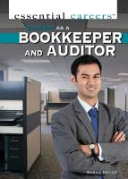 Careers as a Bookkeeper and Auditor PDF