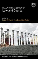 Research Handbook on Law and Courts PDF