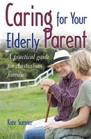 Caring For Your Elderly Parent PDF
