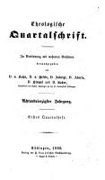 Theologische Quartalschrift PDF