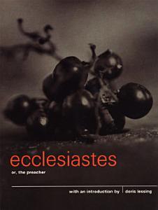 Ecclesiastes or  The Preacher Book