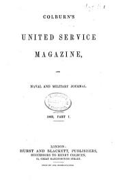 Colburn's United Service Magazine and Naval and Military Journal: Volume 19