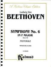 Symphony No. 6 (Pastorale), Op. 68: Full Orchestra (Miniature Score)