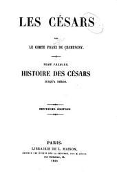 Les Césars: Volume1