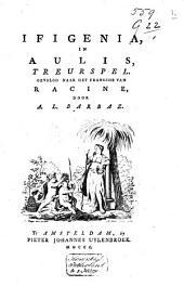 Ifigenia, in Aulis,: treurspel ...