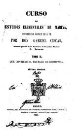 Tratado de geometria (IX, 122 p., V h. de lám. pleg.)