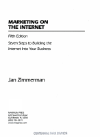 Marketing on the Internet PDF