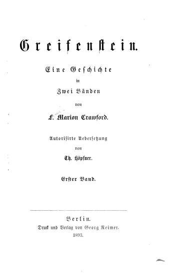 Greifenstein PDF