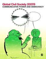 Global Civil Society 2007 8 PDF